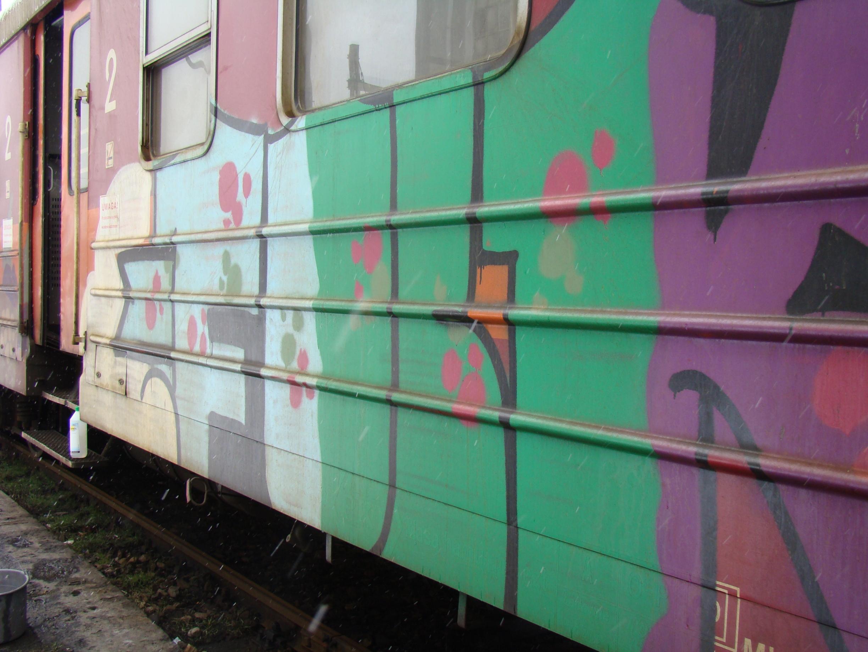 usuwanie graffiti pociag 2 - Photo Gallery
