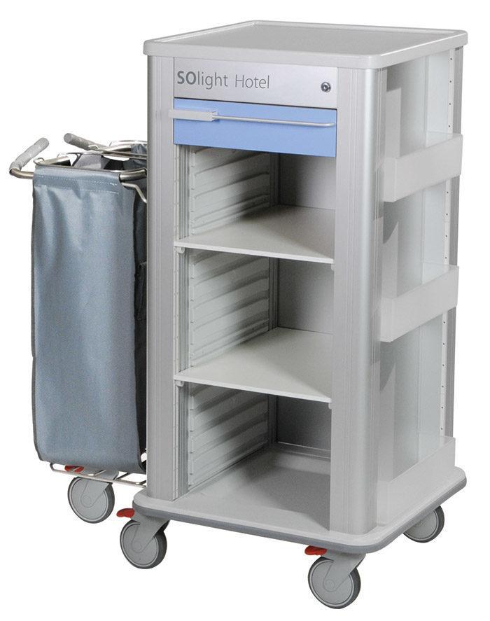 Wozek hotelowy SOlight S 700x887 - Wózek hotelowy SOlight S